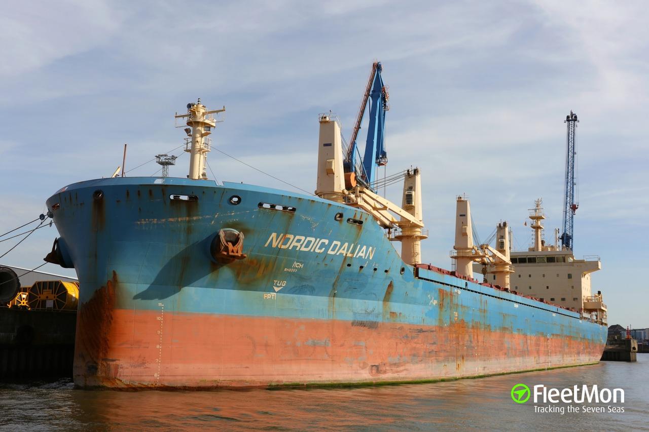 Vessel NORDIC DALIAN (Bulk carrier) IMO 9667588, MMSI 636018581