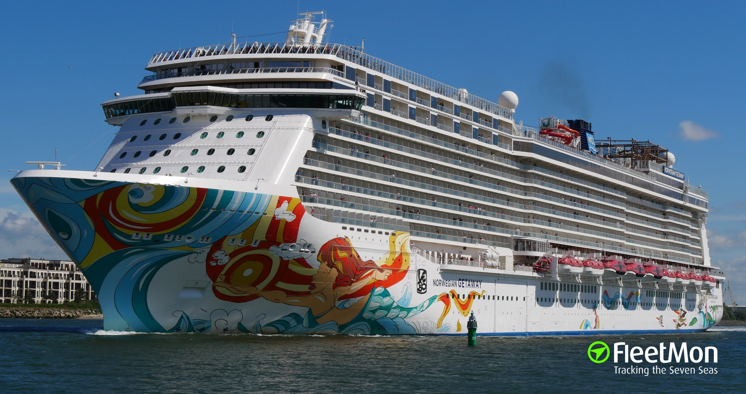 Photo of norwegian getaway imo 9606924 mmsi 311050900 for Ncl getaway