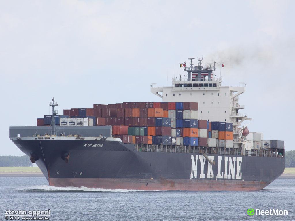 Nyk line vessel schedule