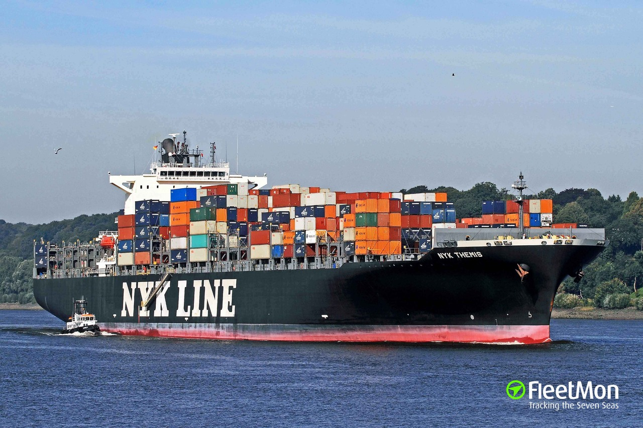 Vessel NYK THEMIS (Container ship) IMO 9356696, MMSI 636018225