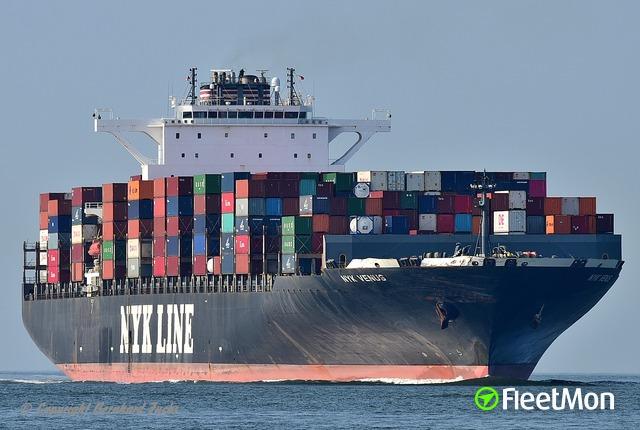 Vessel NYK VENUS (Container ship) IMO 9312793, MMSI 372512000