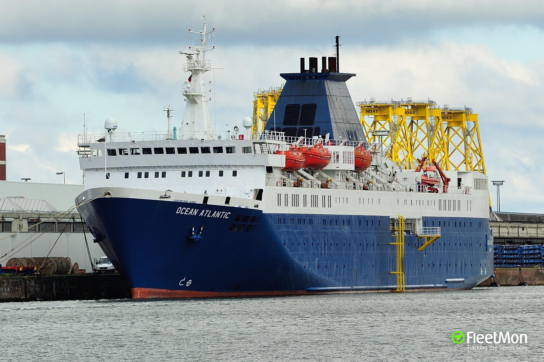 atlantic ocean and ship
