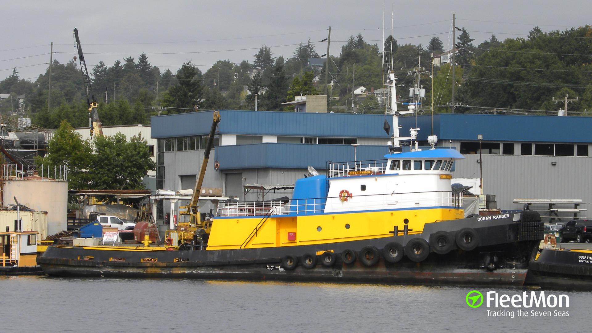 160-meter floating dock sank off San Francisco