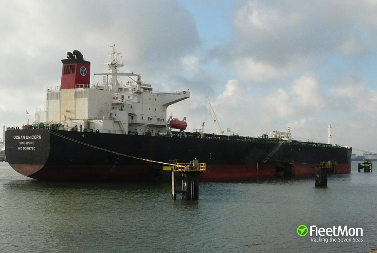 Vessel OCEAN UNICORN (Oil tanker) IMO 9388780, MMSI 563682000