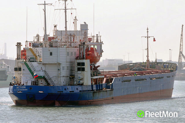 Freighter bound for Iran interrupted voyage after grounding, Volga