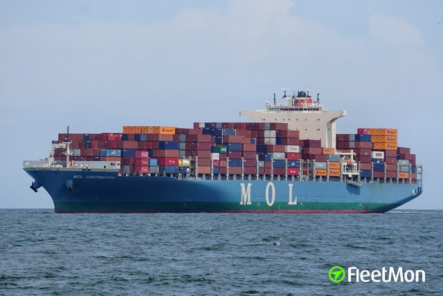 Fire on board of MOL CONTRIBUTION