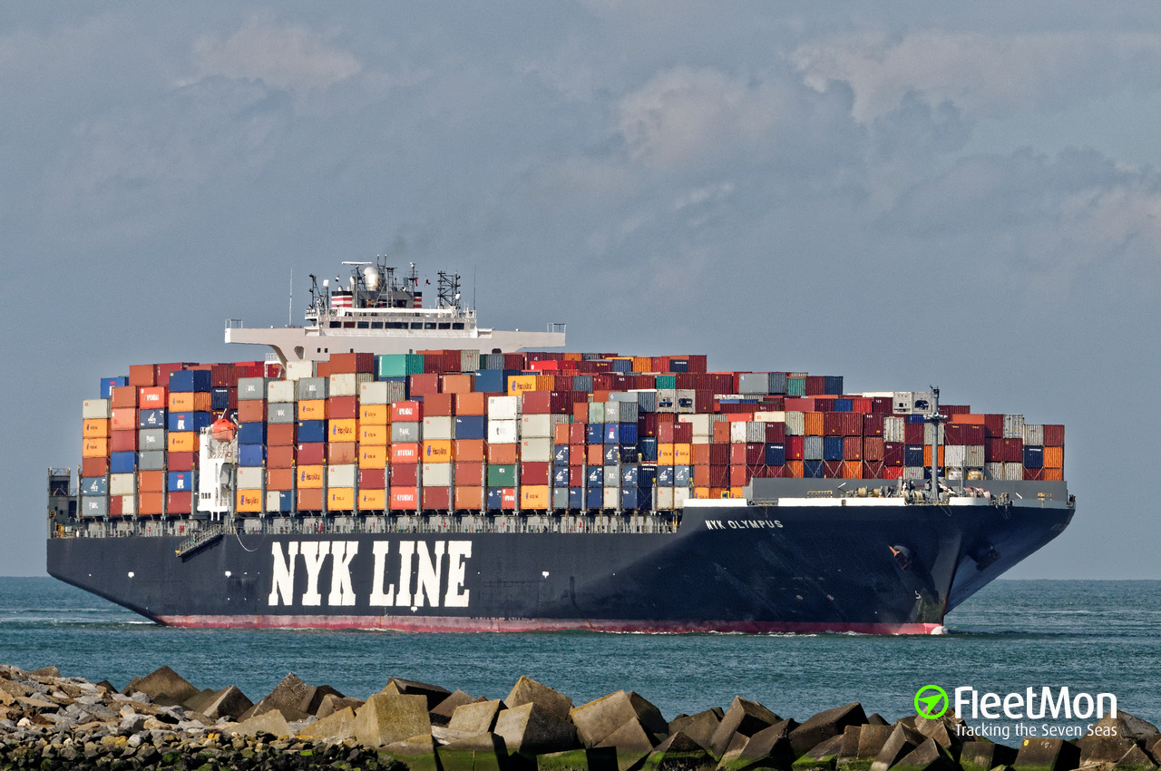 Vessel ONE OLYMPUS (Container ship) IMO 9312987, MMSI 563048400