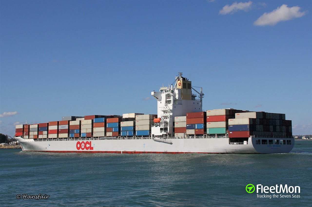 OOCL BRISBANE (Container ship) IMO 9445502