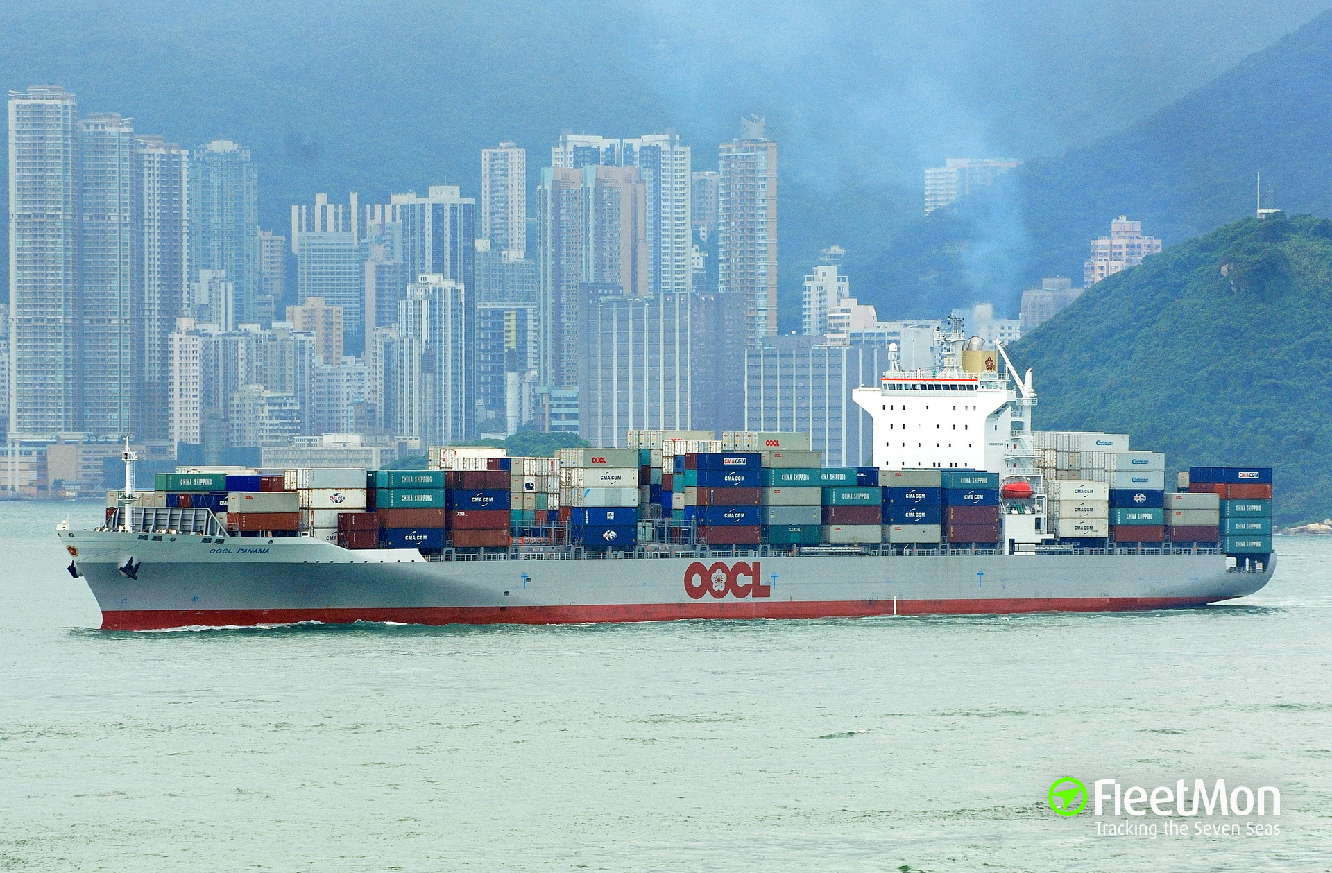 OOCL PANAMA (Container ship) IMO 9355769
