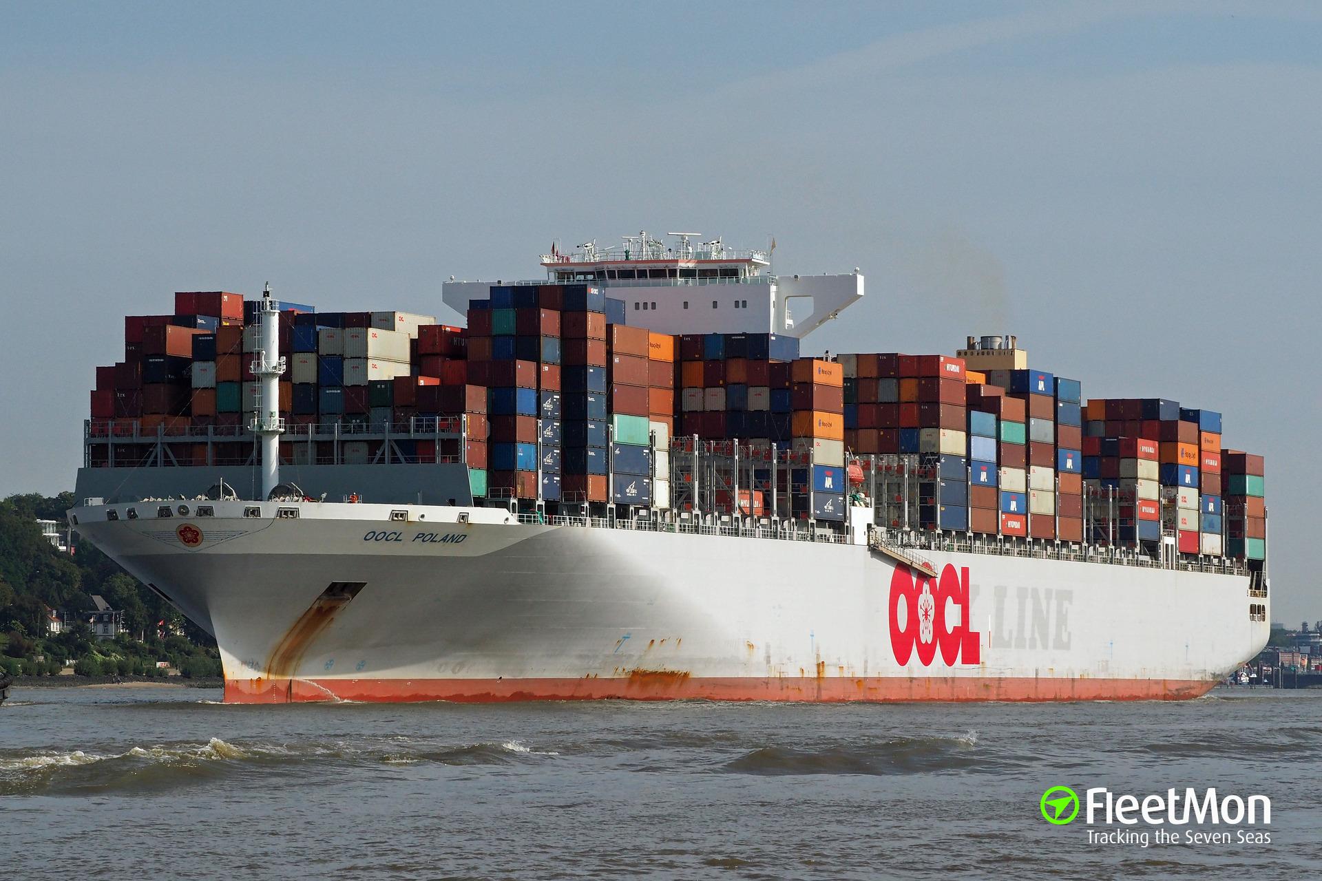 OOCL POLAND (Container ship) IMO 9622588
