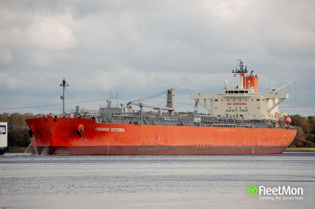 UK-flagged Japanese tanker suspect in hit&run