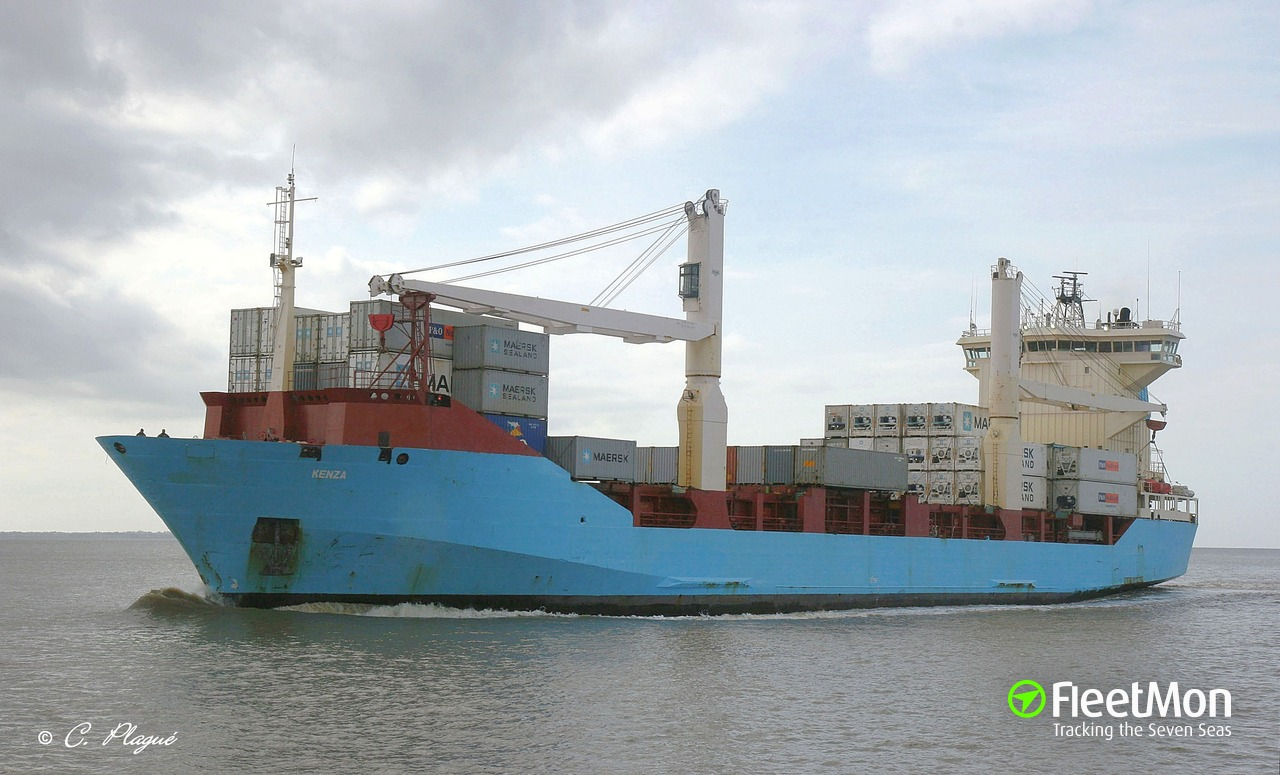 Container ship Kenza is to leave Cagliari after 2 years detention