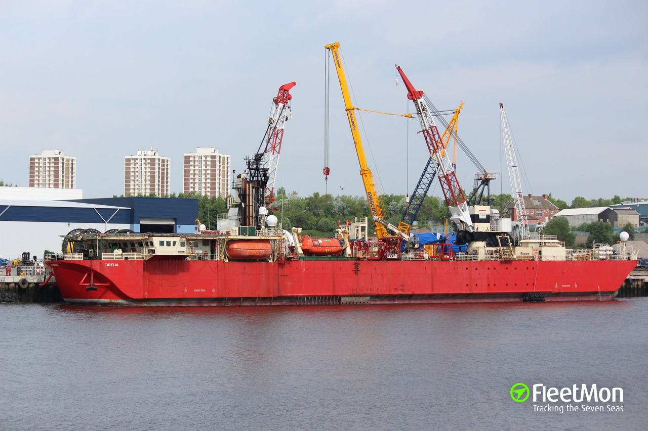 Orelia Supply Vessel Imo 8208854
