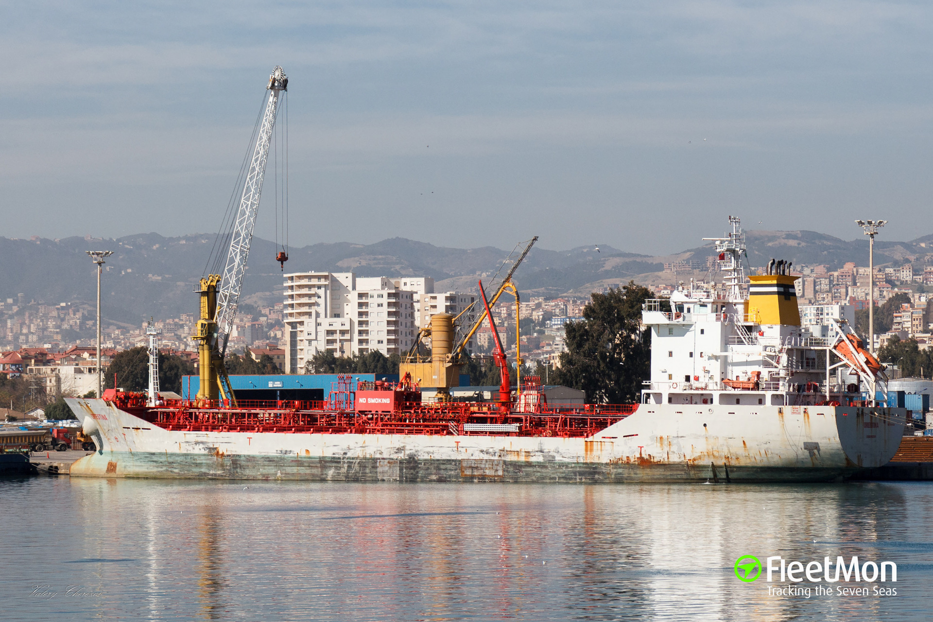 Chemical tanker ORESTINA towed back to Las Palmas after Master was threatened with arrest