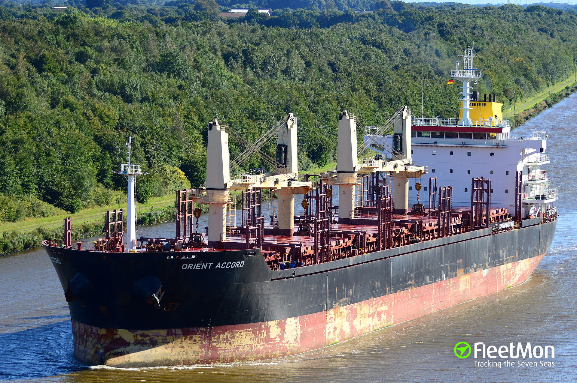 Master and Chief Engineer of bulk carrier Orient Accord detained in Thessaloniki