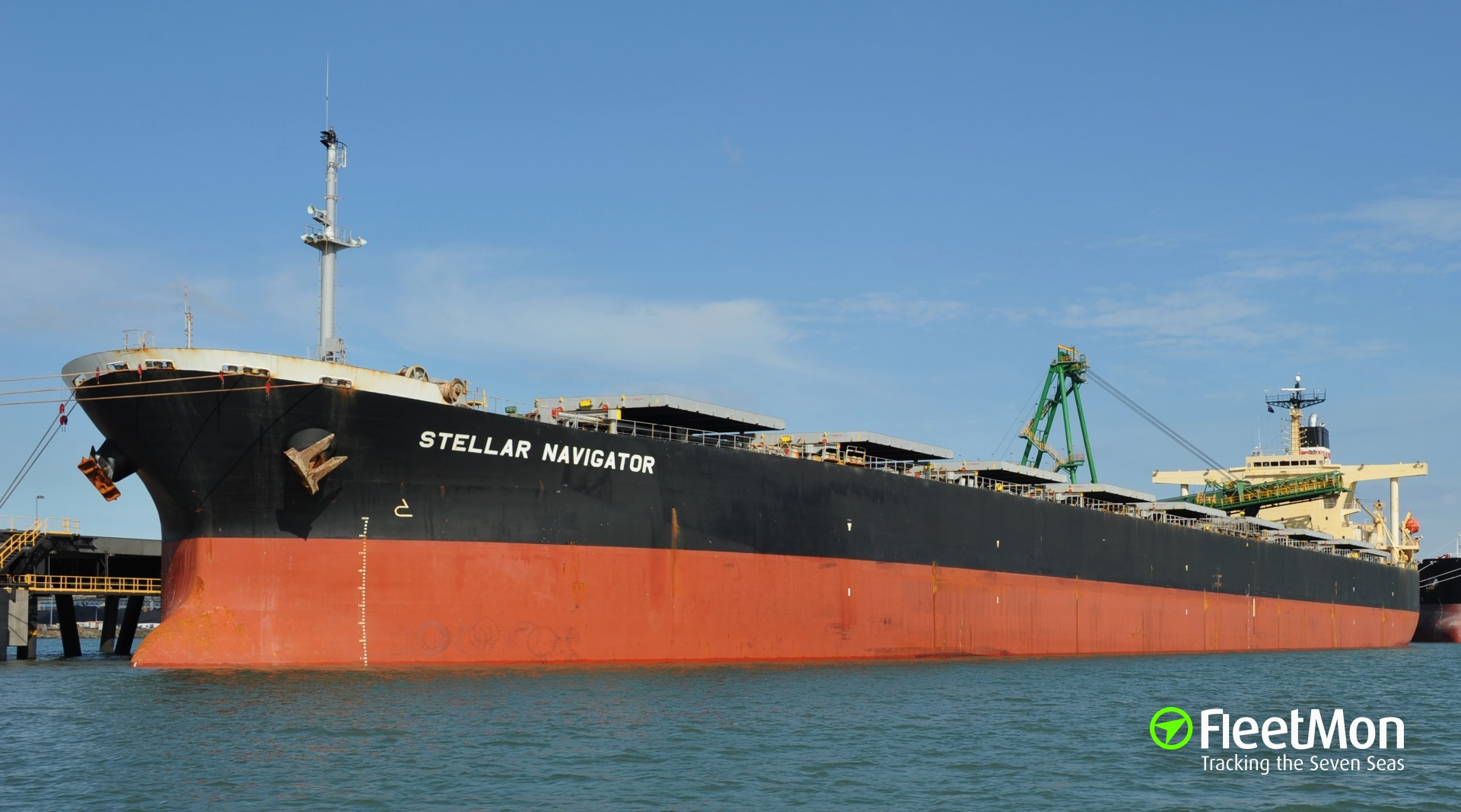 Bulk carrier disabled in Philippine sea