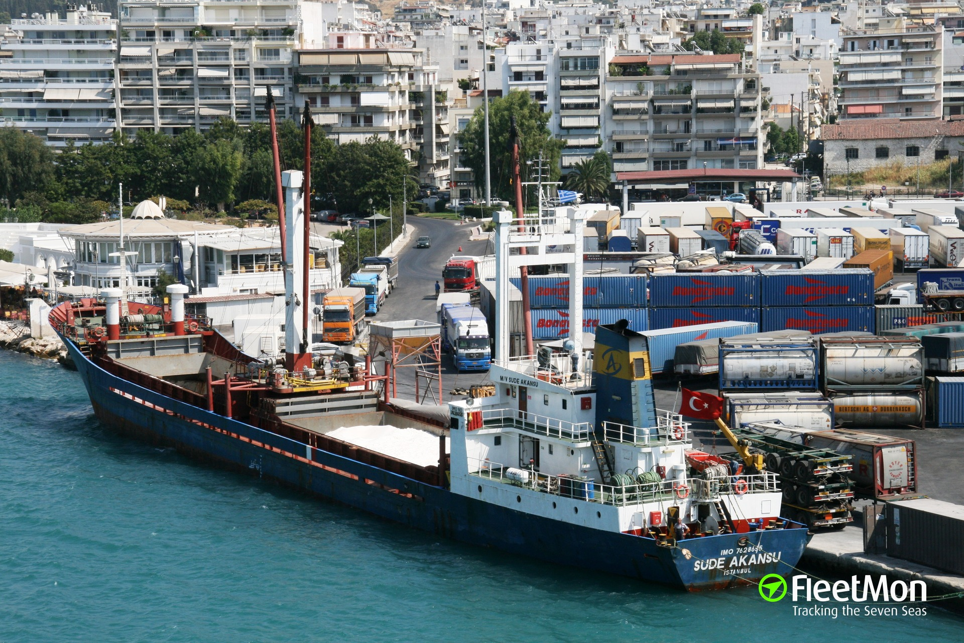 Freighter Orsa abandoned, stranded in Famagusta