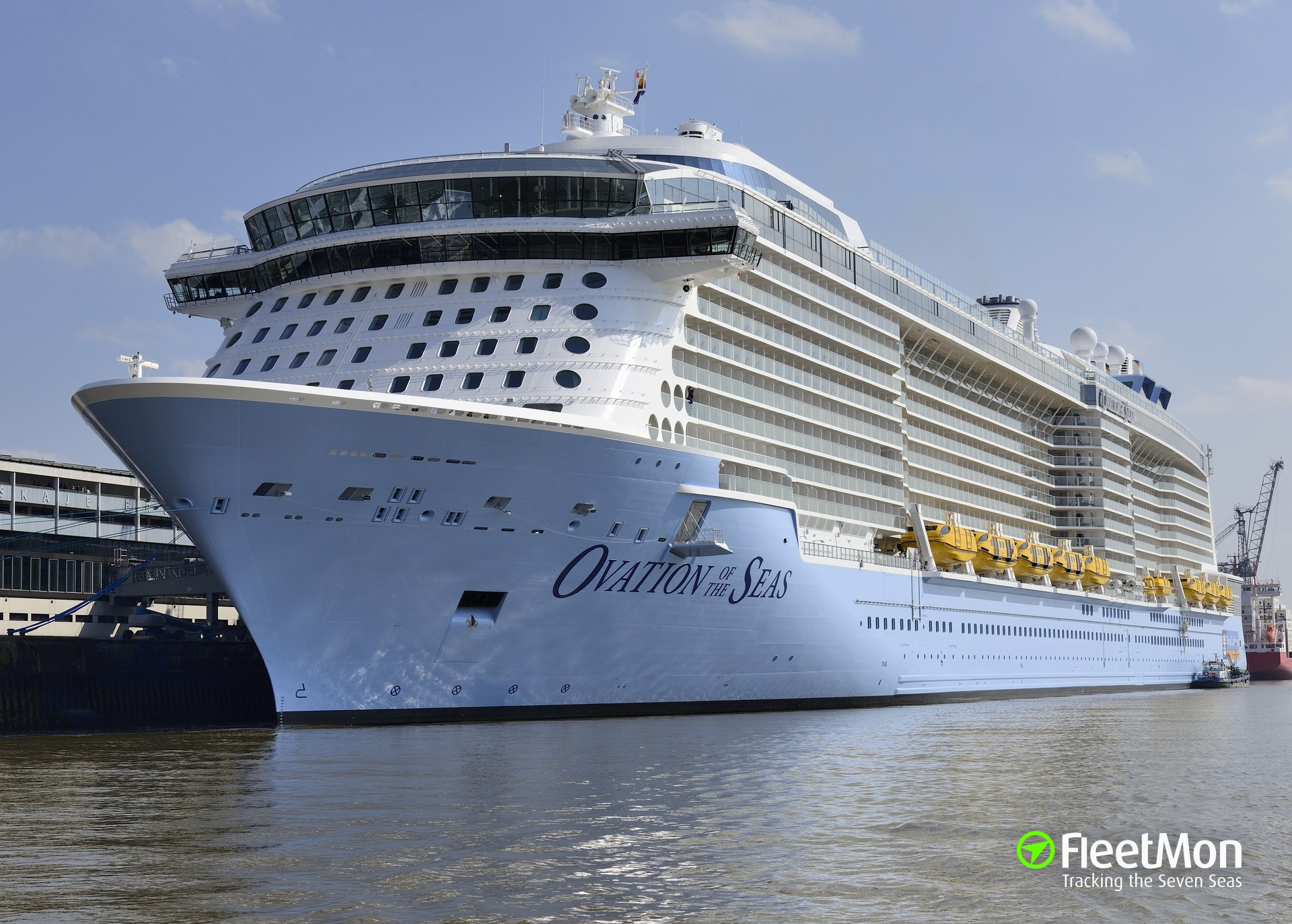 Photo Of Ovation Of The Seas Imo 9697753 Mmsi
