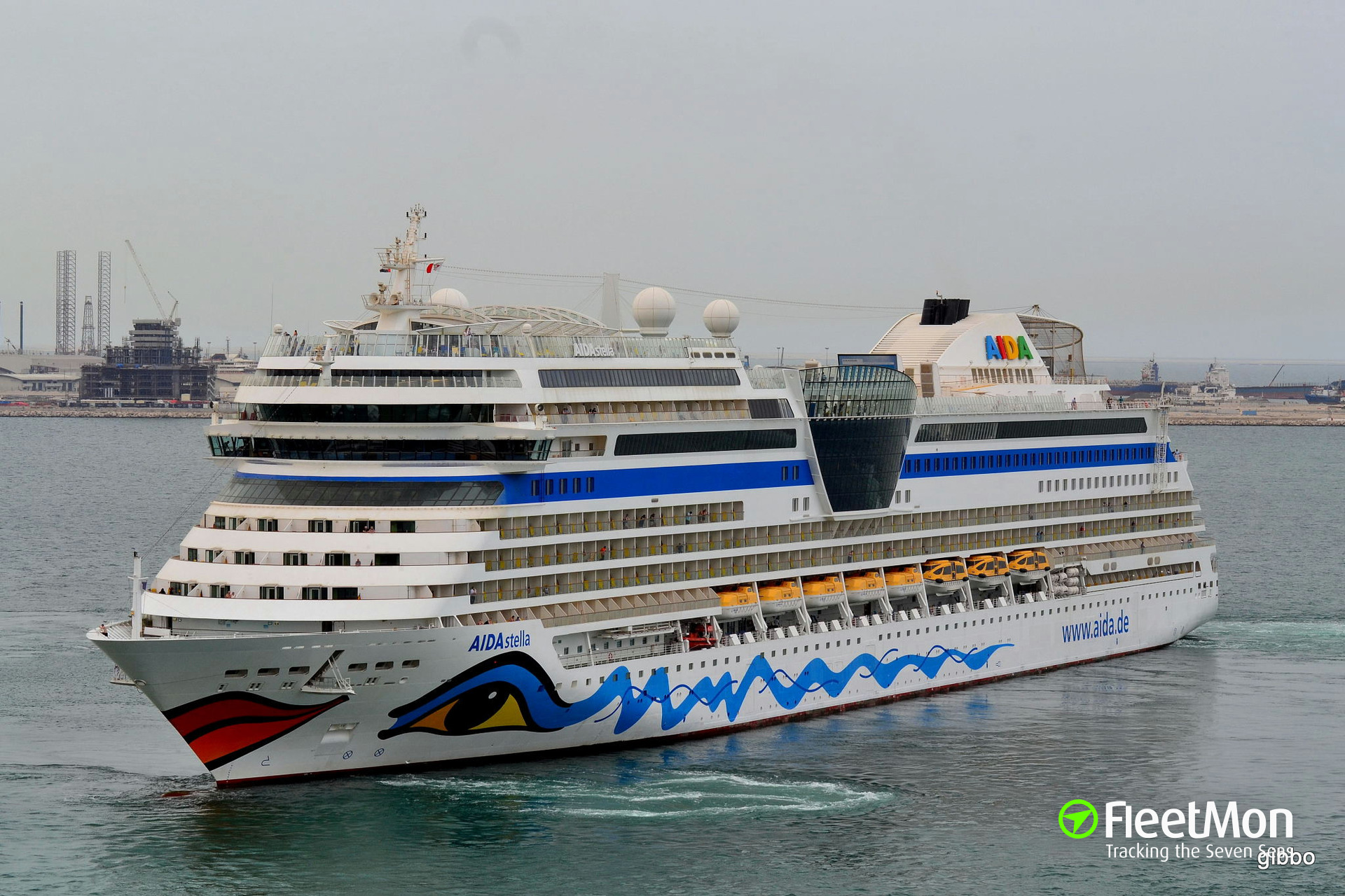 #10 of AIDA Cruises will be christened in Rostock, Germany!
