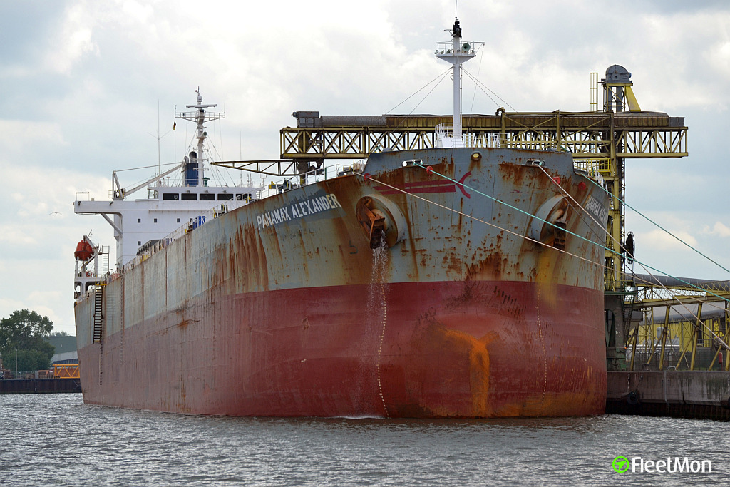 Two Panamax bulk carriers disabled