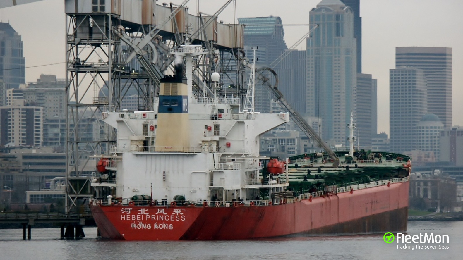 Greek bulker Panamax Blessing sent to bottom Chinese freighter Harmony Rise in collision