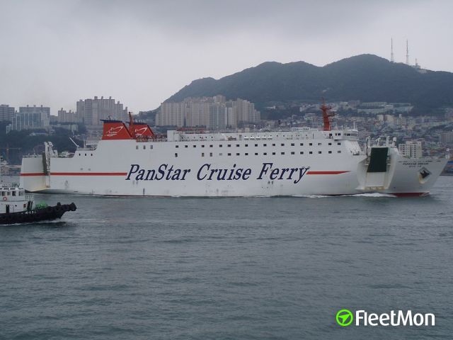 Ferry Panstar Dream towed back to Busan