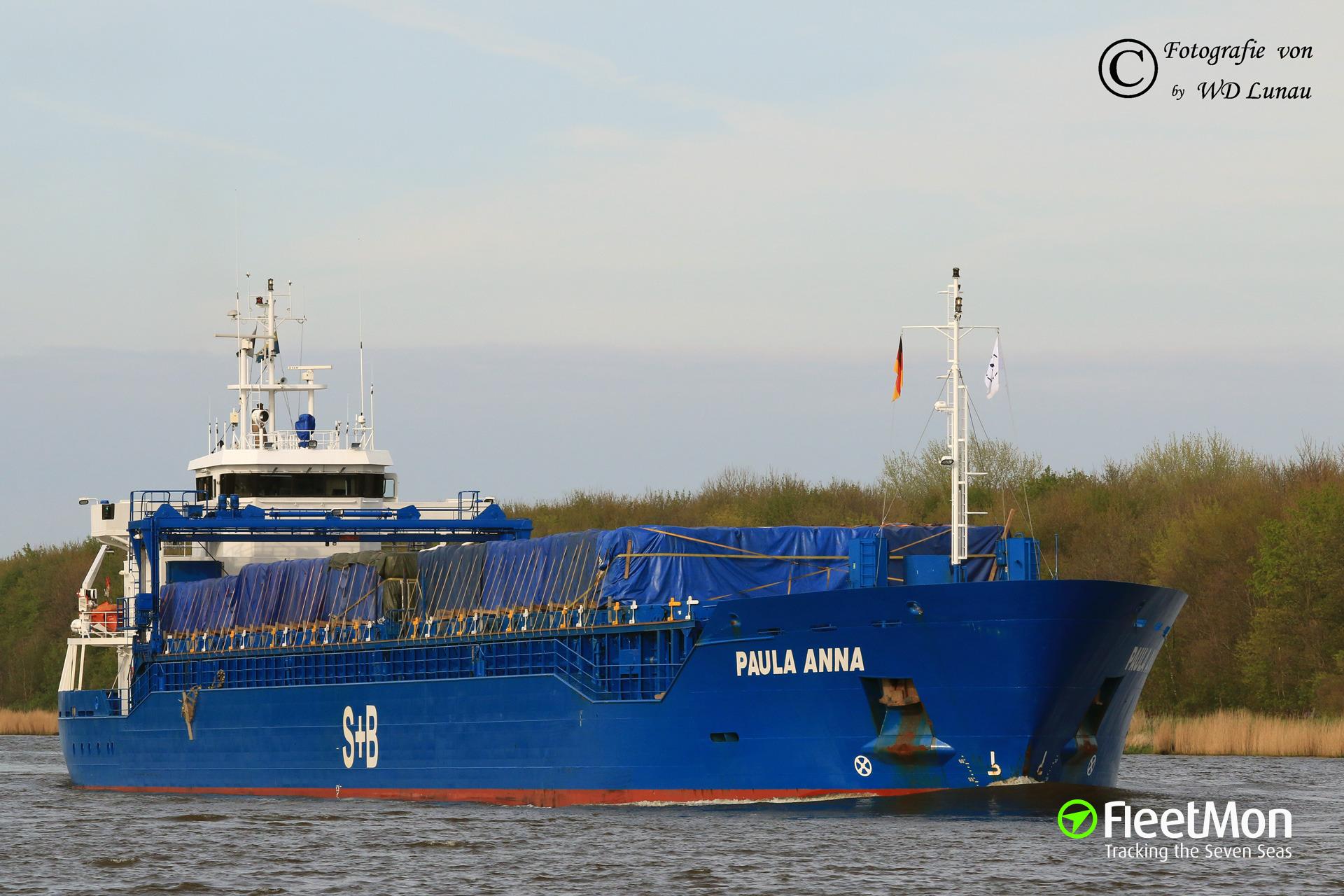 EMPIRE vs. PAULA ANNA, Kiel Canal