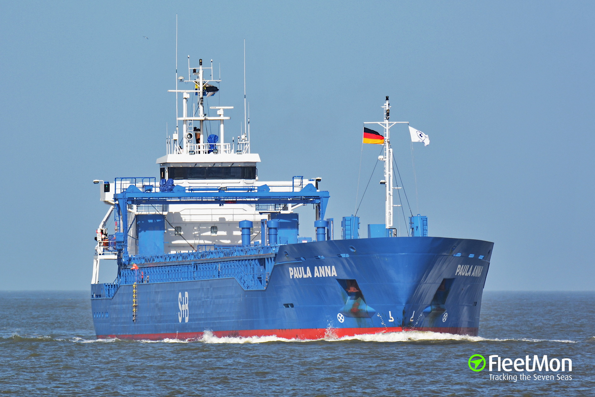 EMPIRE vs. PAULA ANNA, Kiel Canal