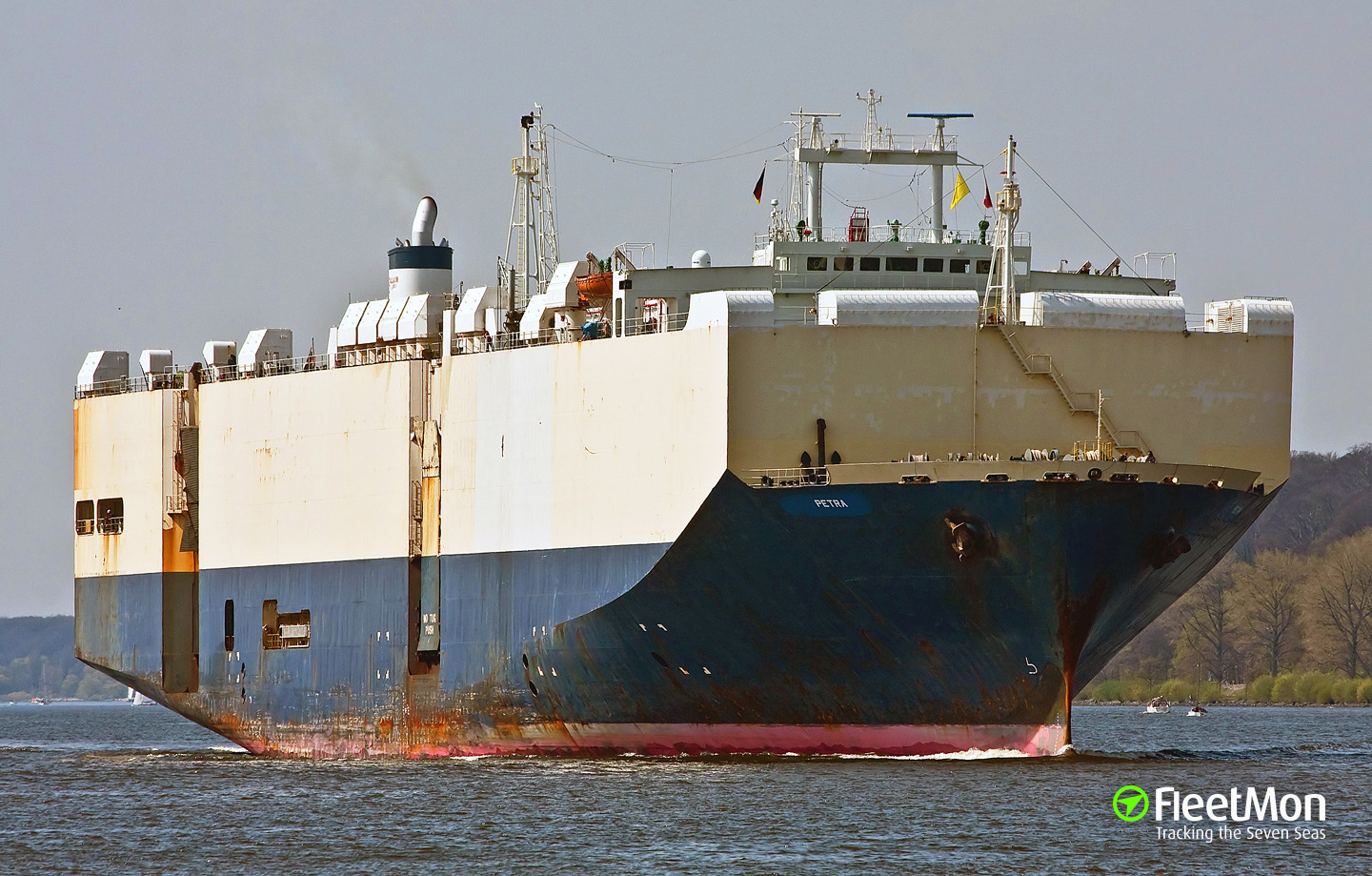Car carrier disabled east of Florida, Atlantic