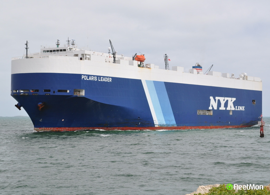 Car carrier drifting in Bay of Bengal