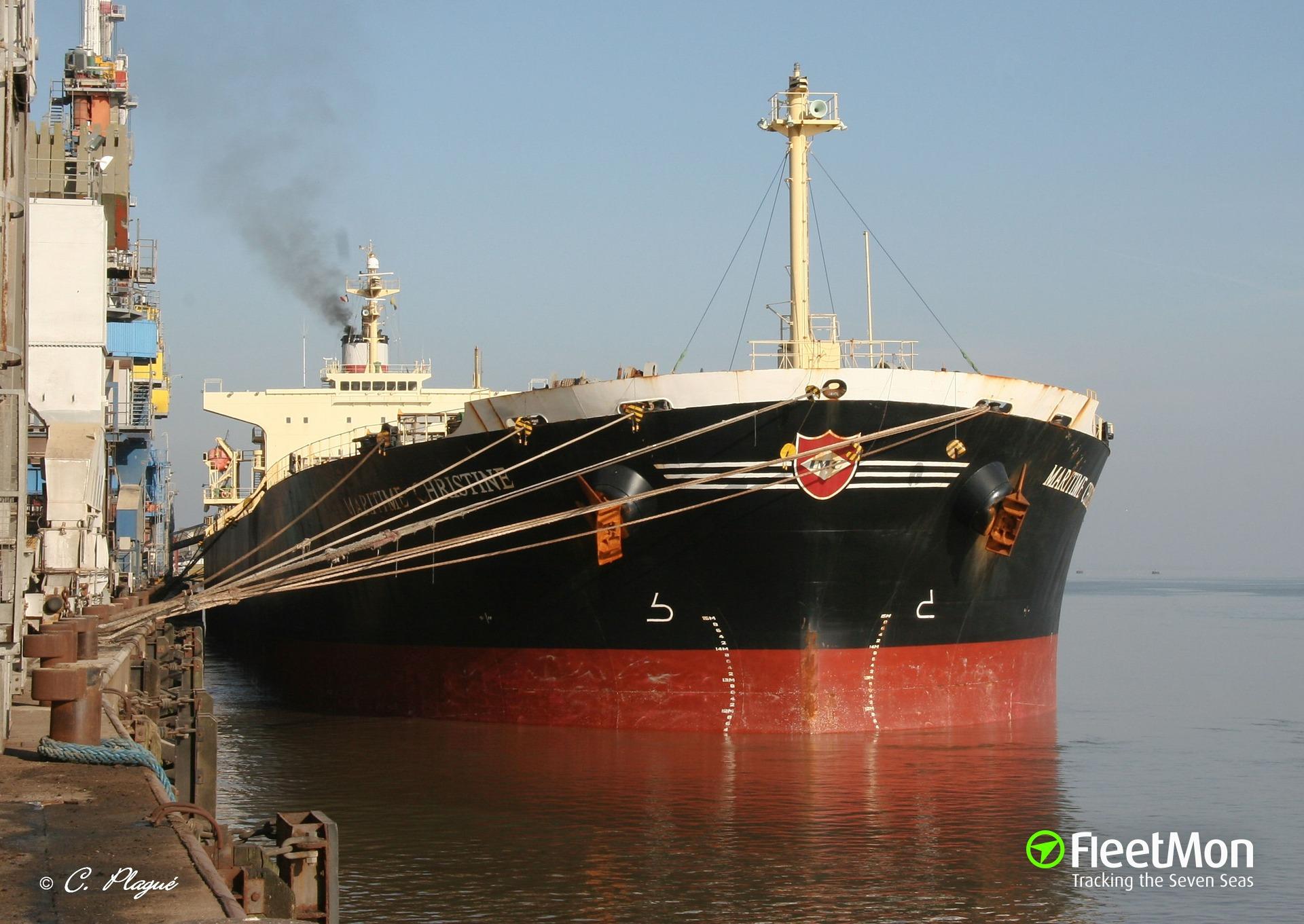 Diana's Panamax bulk carrier MELITE aground