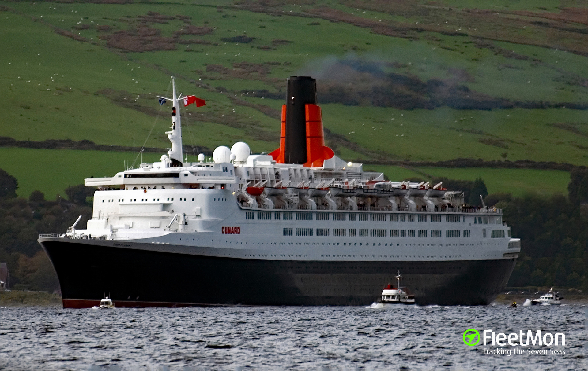 Gps Fleet Tracking Pricing >> QUEEN ELIZABETH 2 (Passenger ship) IMO 6725418