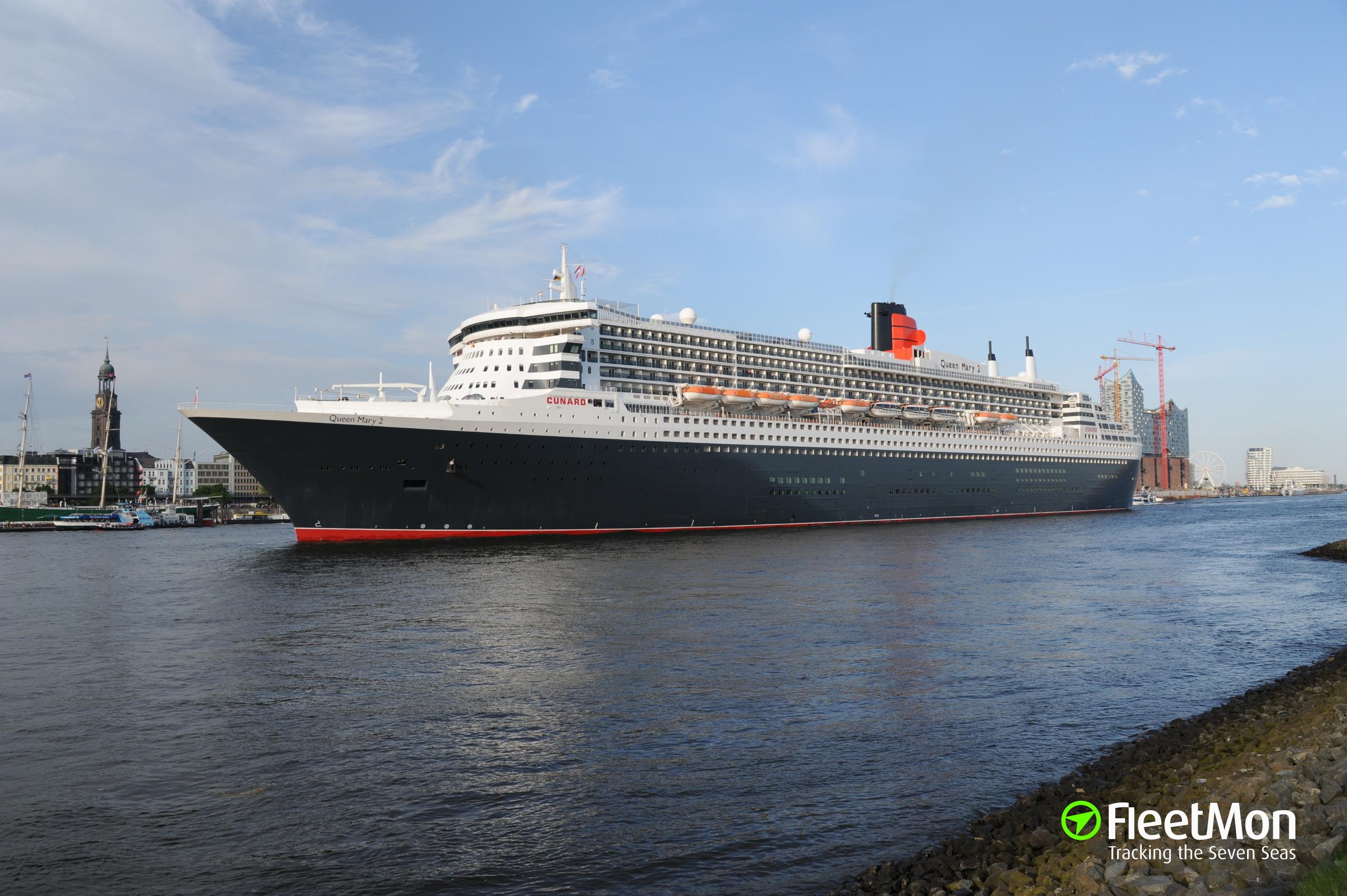 Queen mary 2 new photos