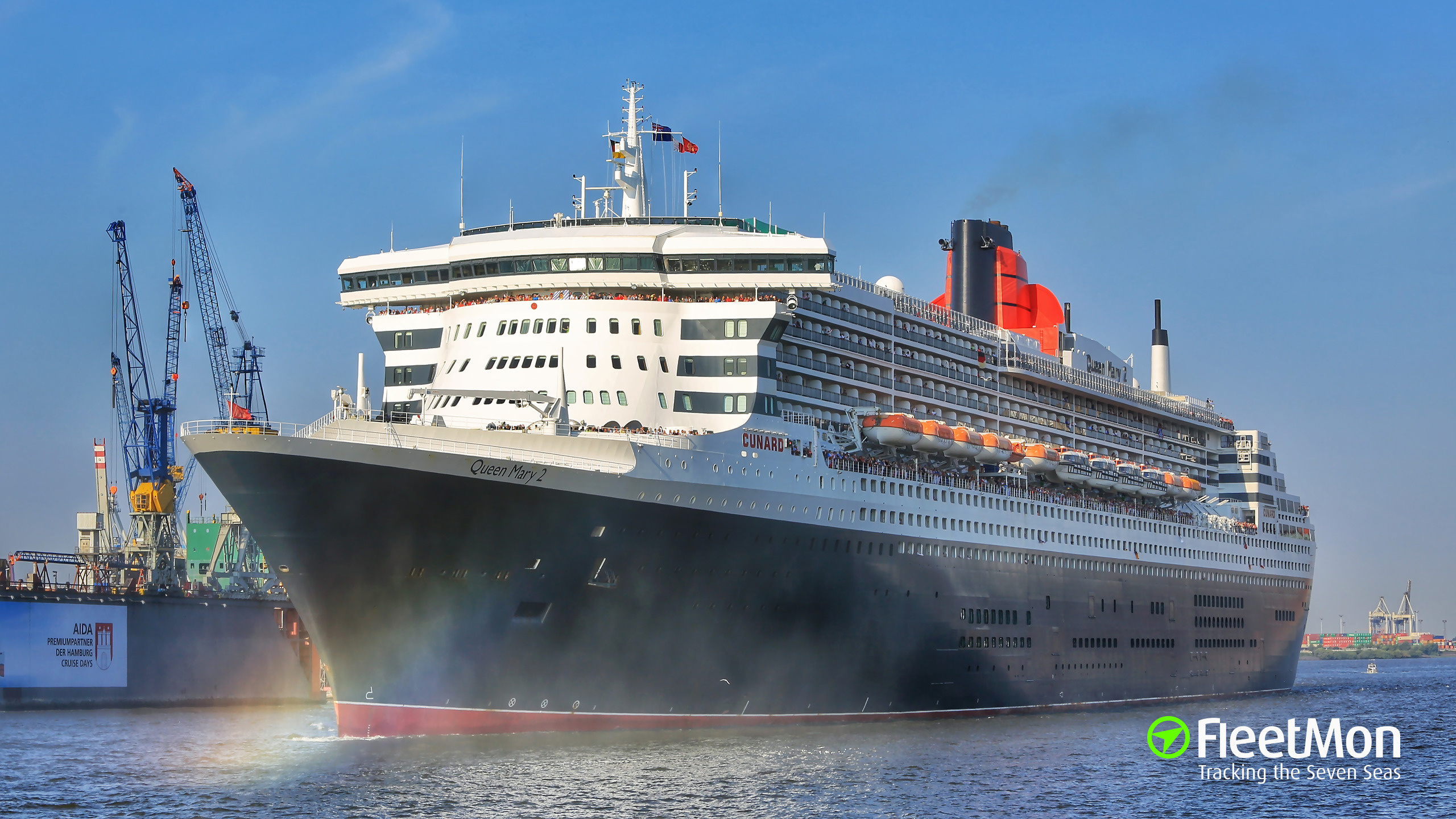 Queen mary 2 photo by fleetmon shipspotter montero