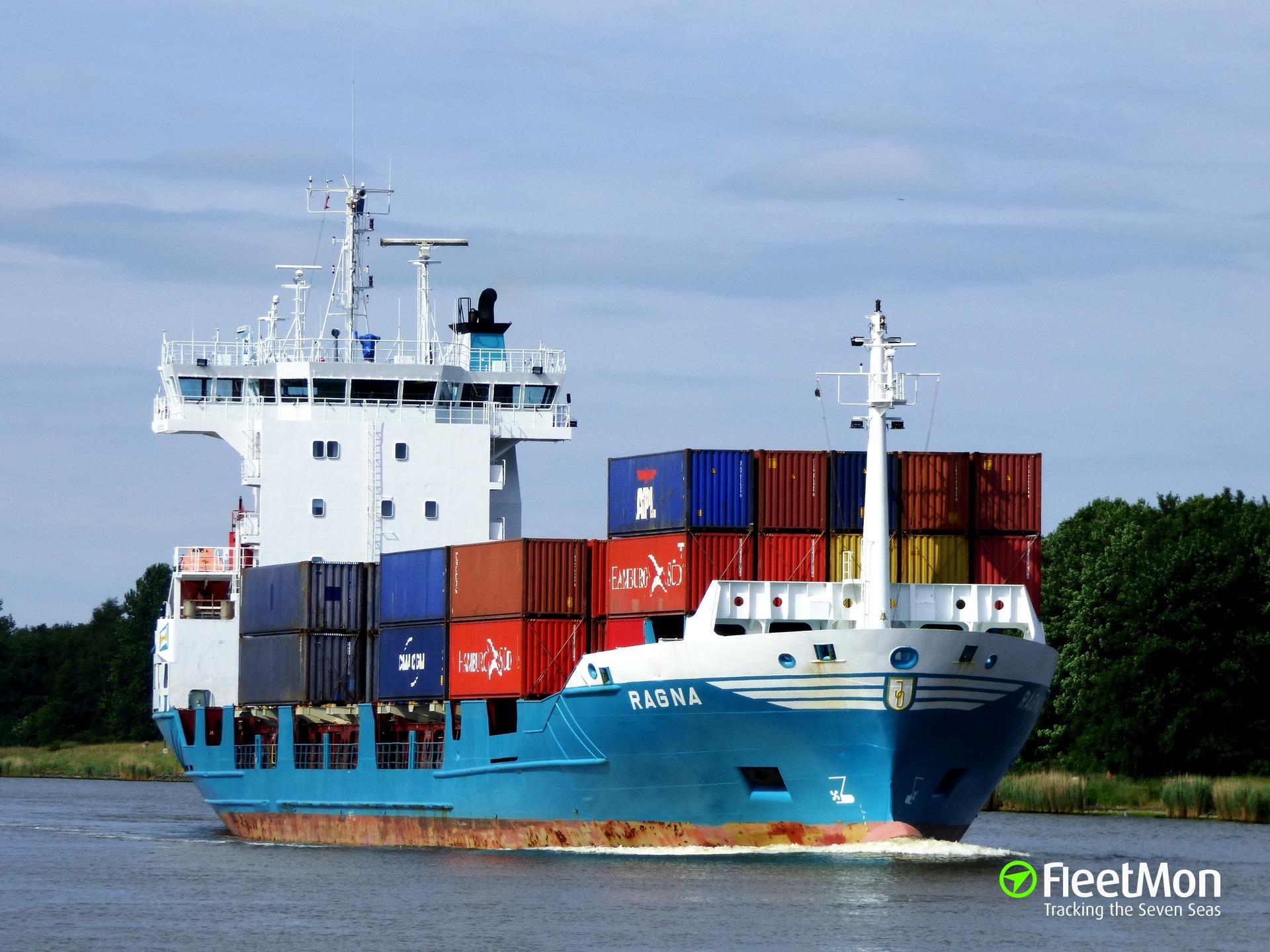 Ragna towed back to Helsinki