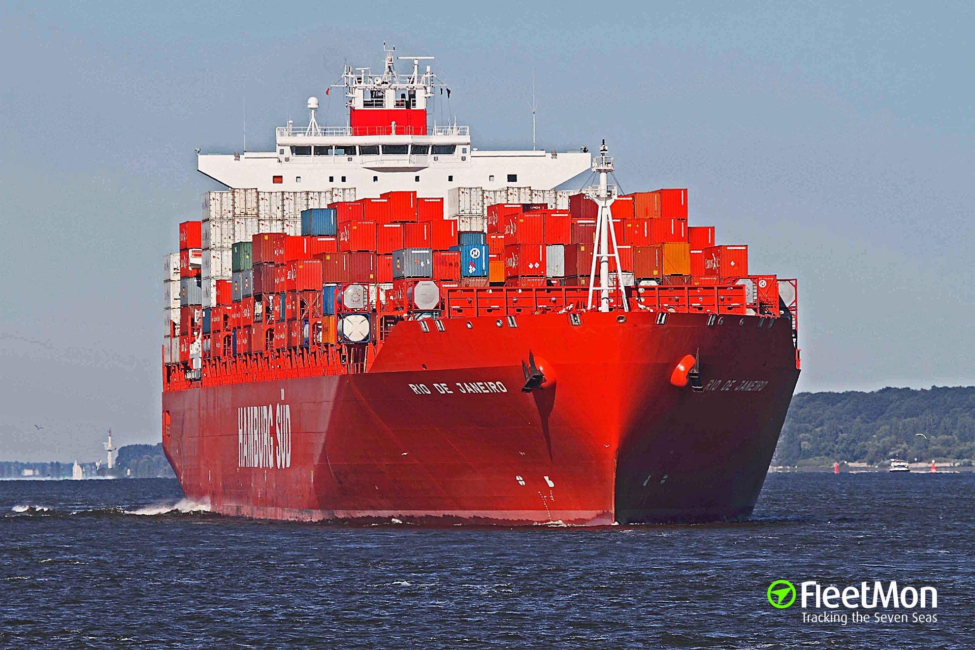 Hamburg-Sud boxship 385 kilo of cocaine intercepted, 9 crew arrested