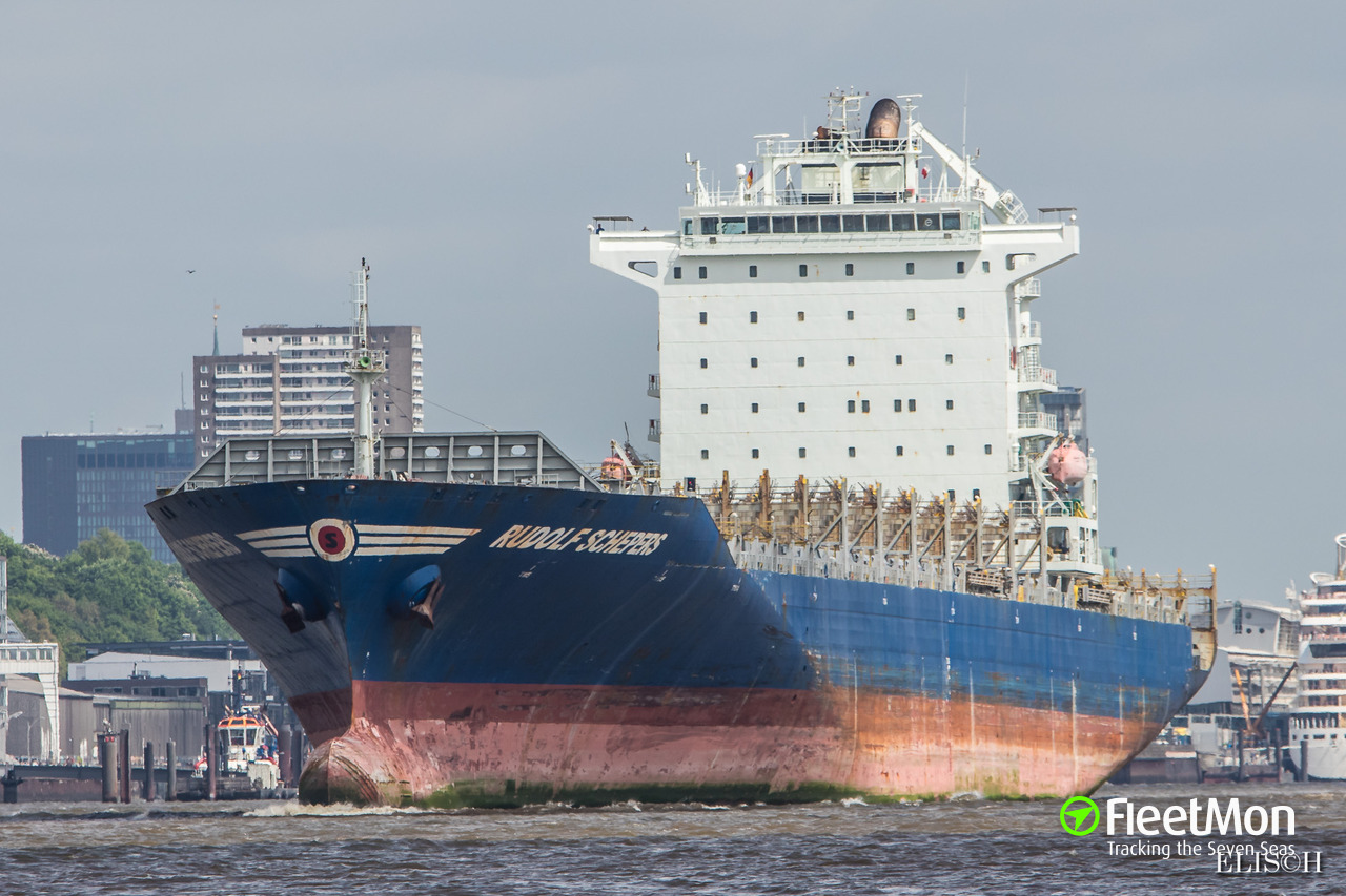 Rudolf Schepers Container Ship Imo 9431719