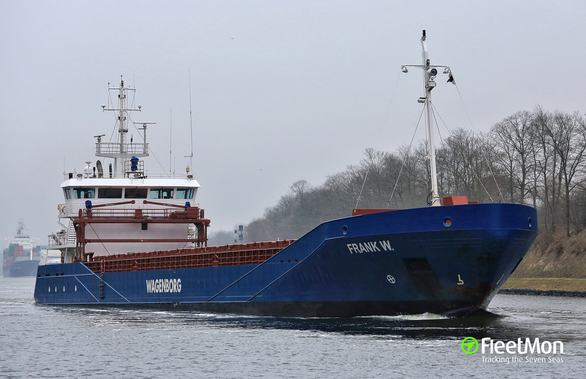 Russian Master of Dutch freighter RUYTER found guilty, fined
