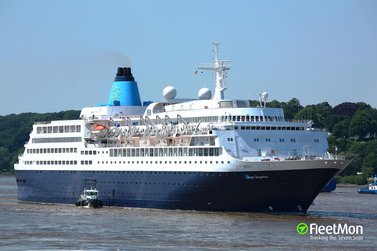 SAGA SAPPHIRE Passenger Ship IMO 7822457