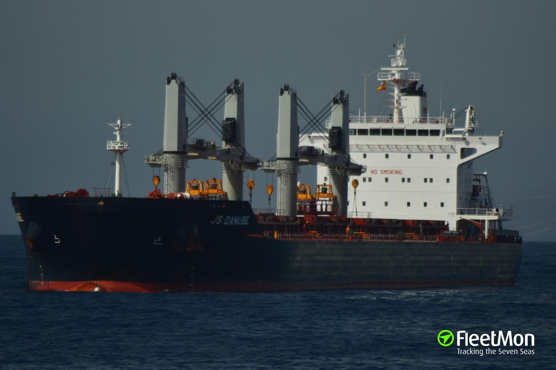 Bulk carrier aground, Mombasa