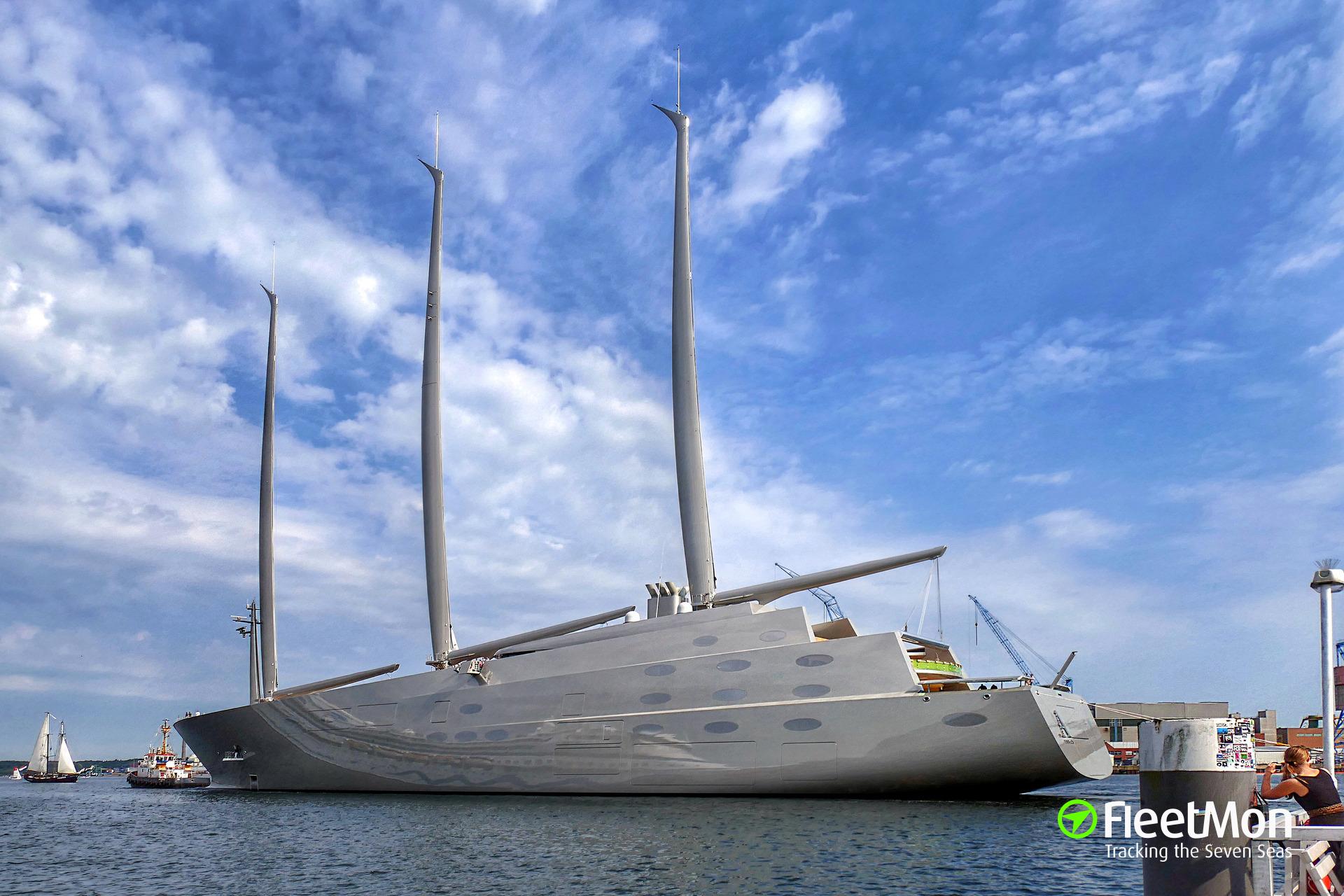 Sailing Yacht A >> Photo Of Sailing Yacht A Imo 1012141 Mmsi 310763000