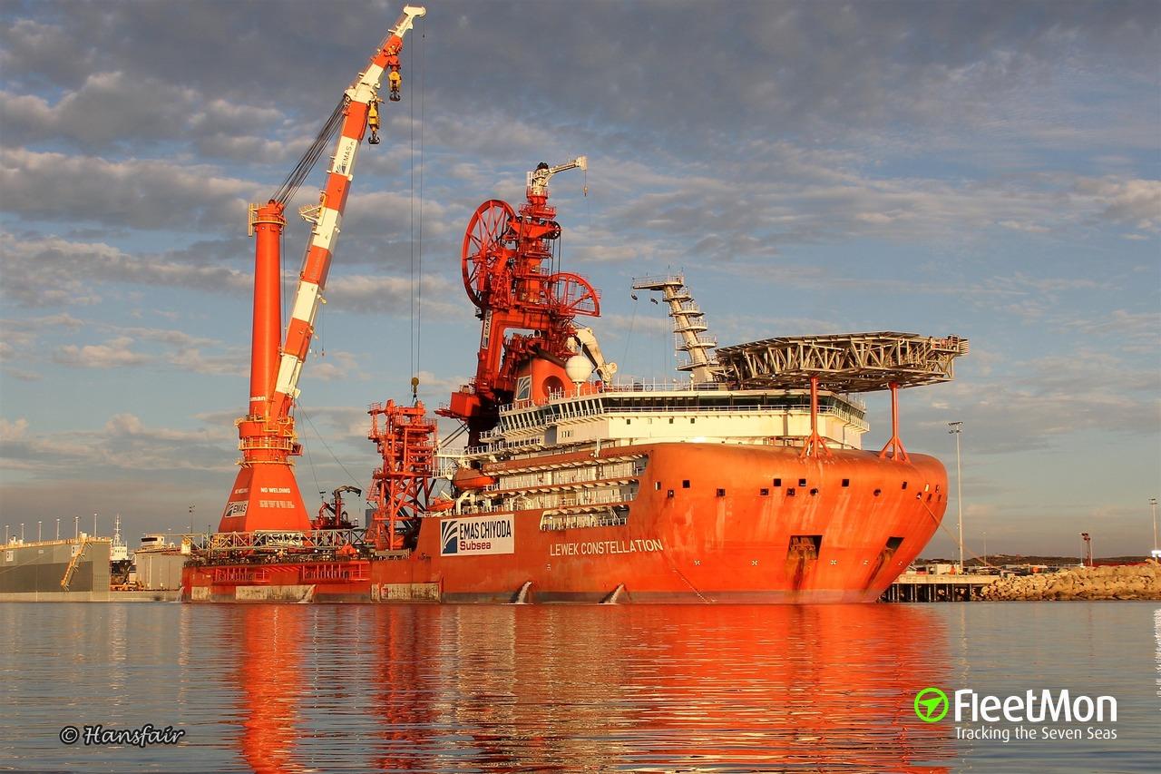 Vessel SAIPEM CONSTELLATION (Offshore Installation/Maintenance