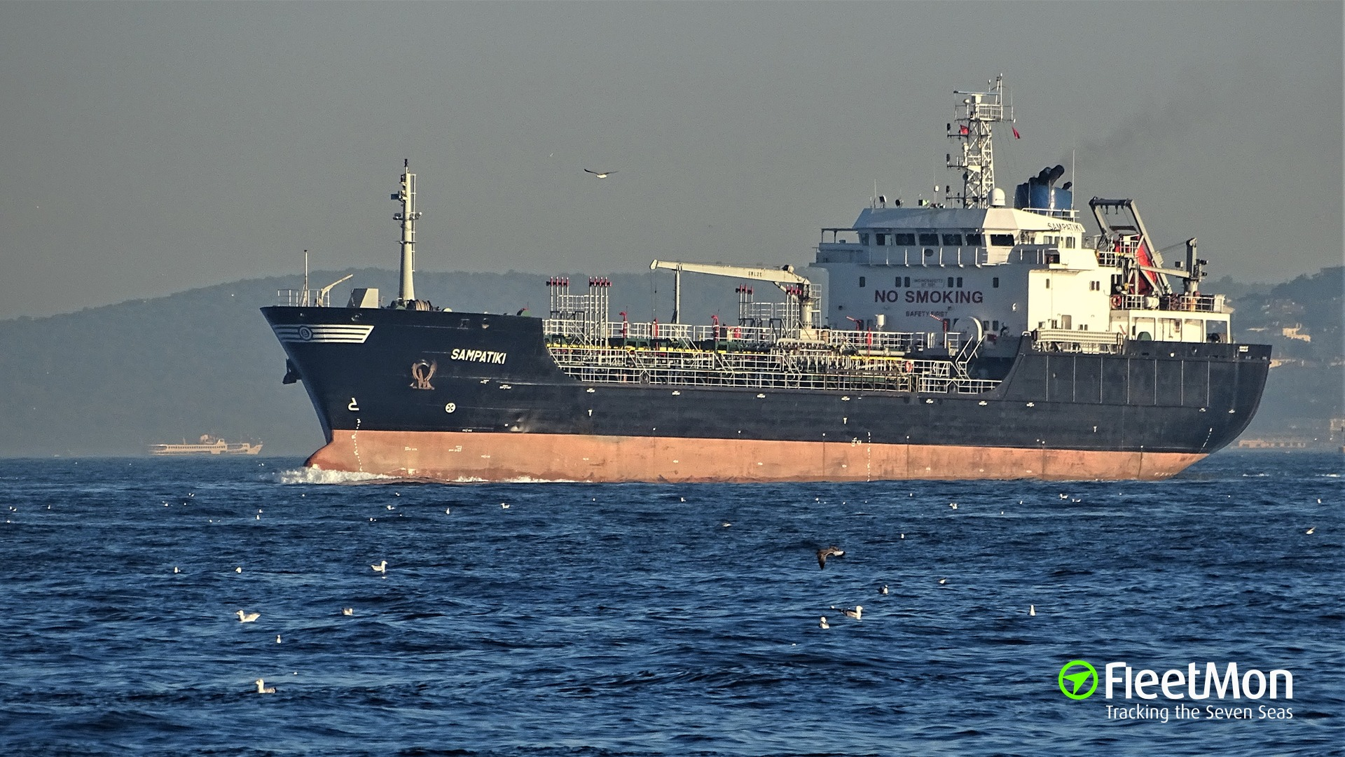 Tanker SAMPATIKI attacked, 5 crew taken hostages, Nigeria