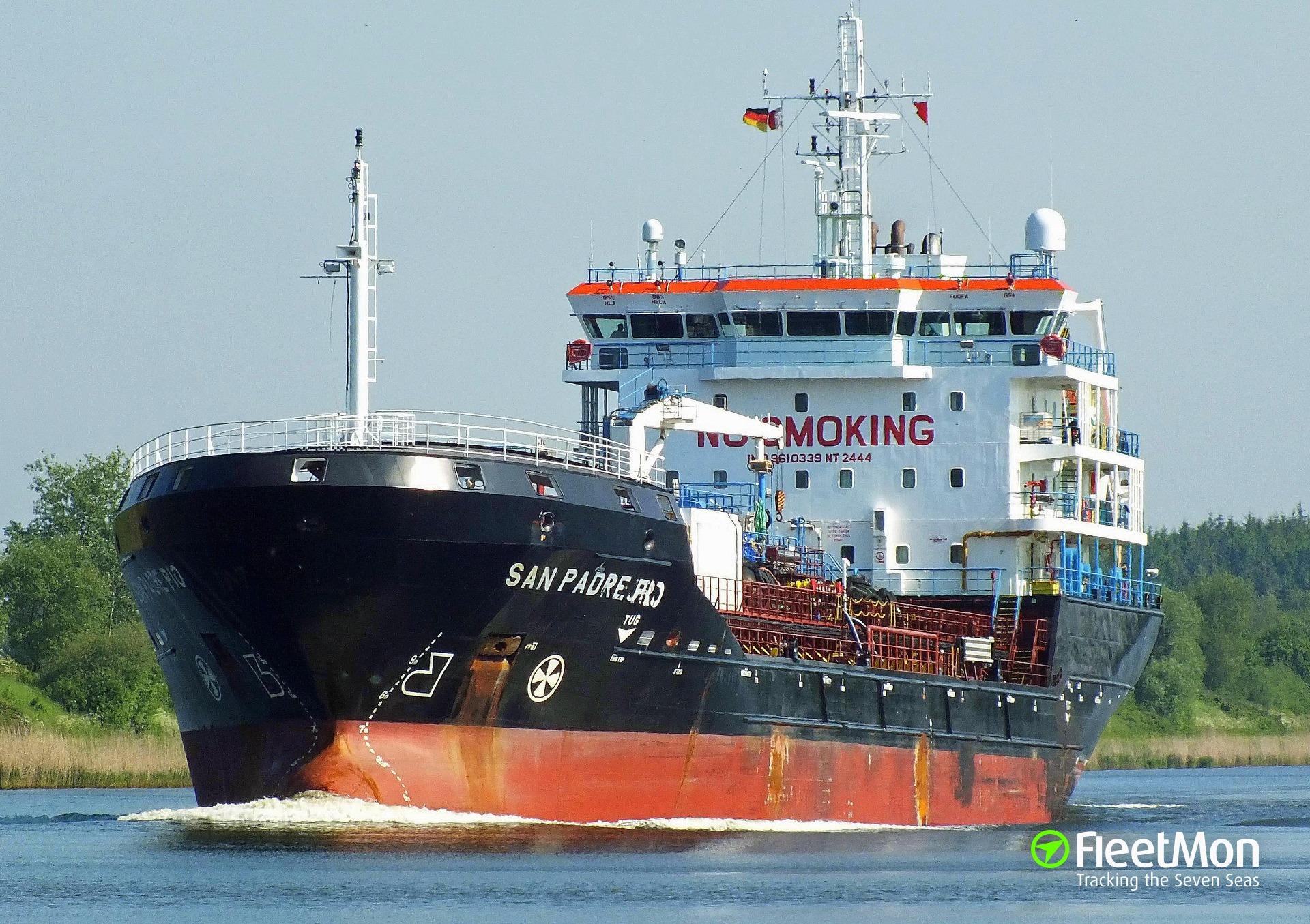 Swiss tanker seized by Nigerian Navy in strange circumstances