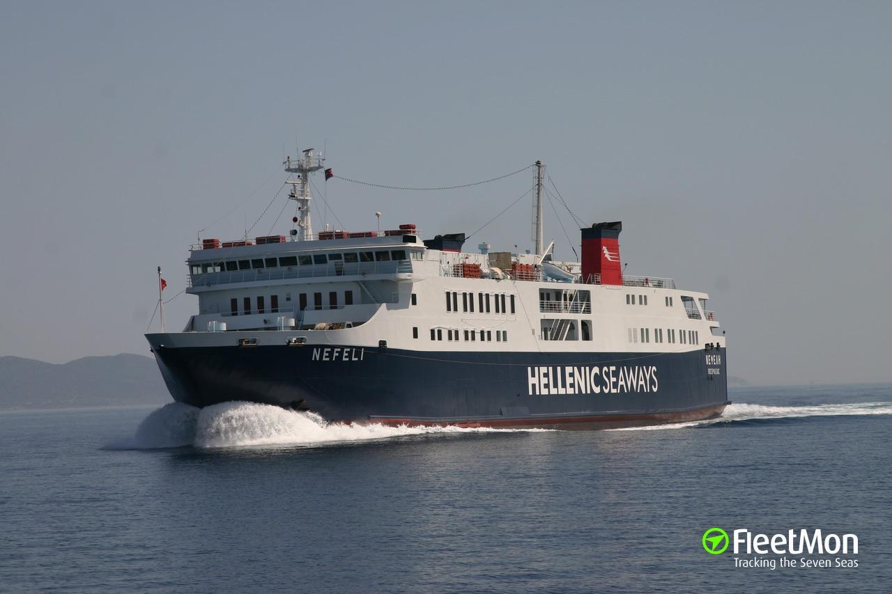 Vessel SAN VALENTIN 3 (RoRo ship) IMO 8911140, MMSI 511959000