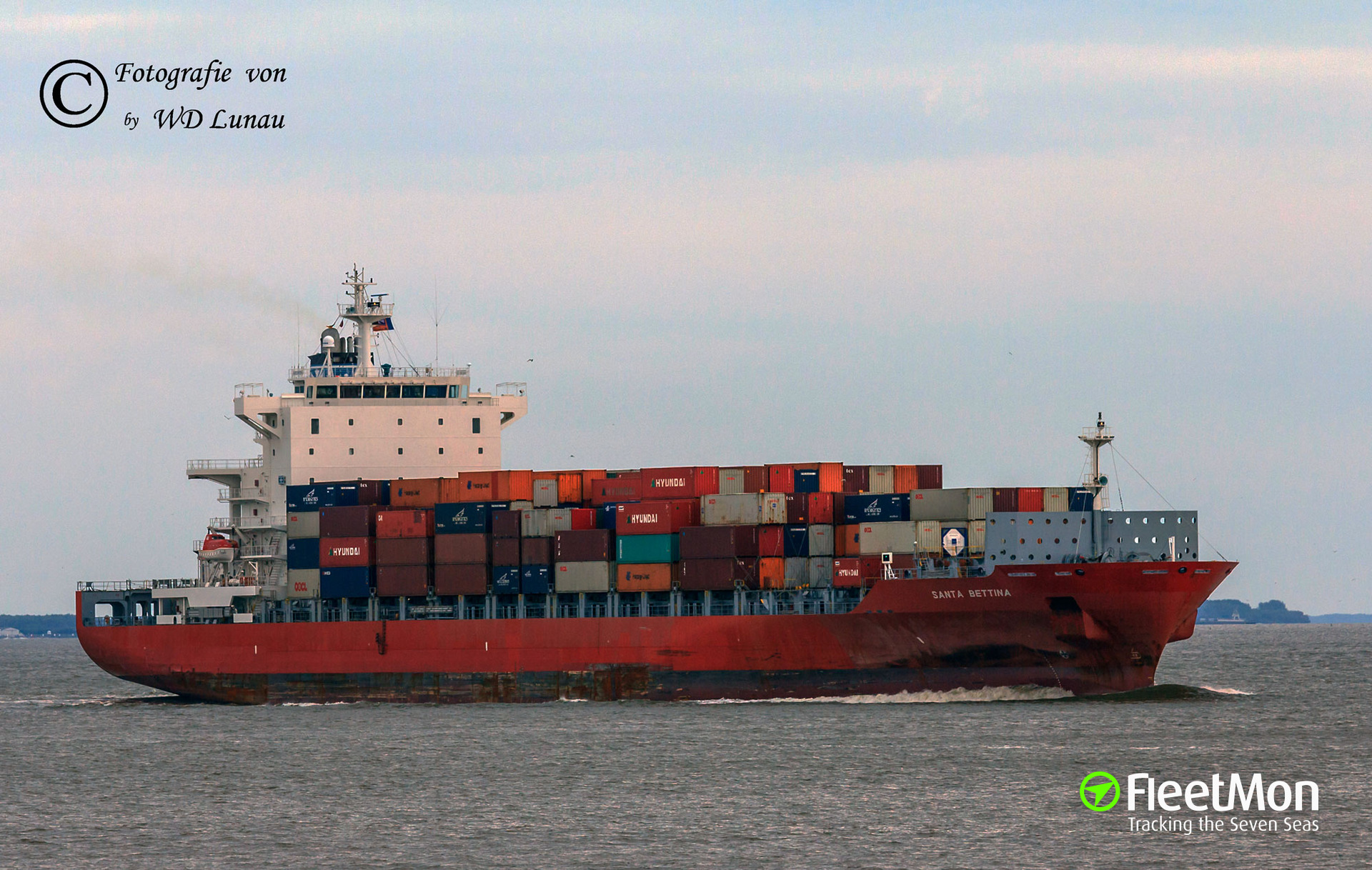 Master of container ship committed suicide during voyage