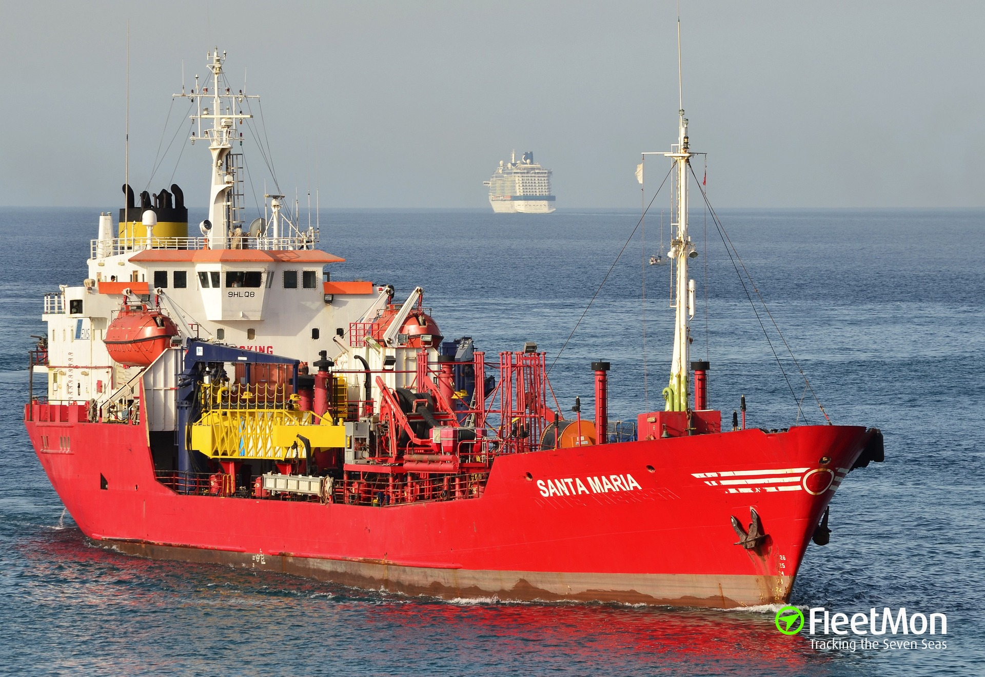 Tanker Santa Maria arrested for fuel contraband from Libya, Malta
