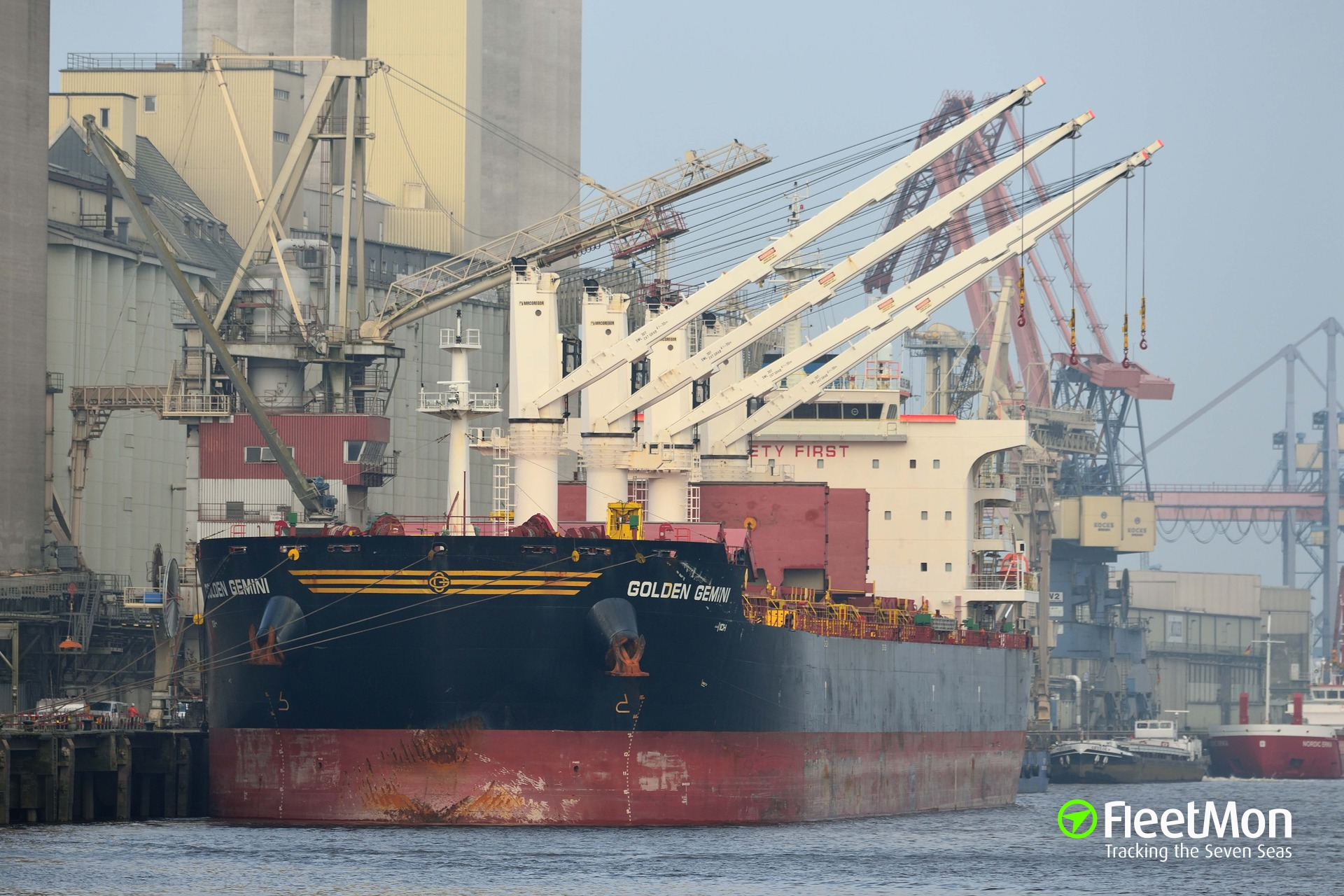GOLDEN GEMINI detained for loading illegal nickel ore, Philippines