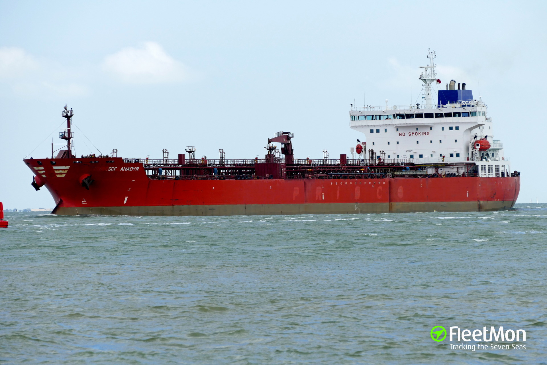 PRISCO's tanker PRISCO Alexandra detained in Cartagena with cocaine on board
