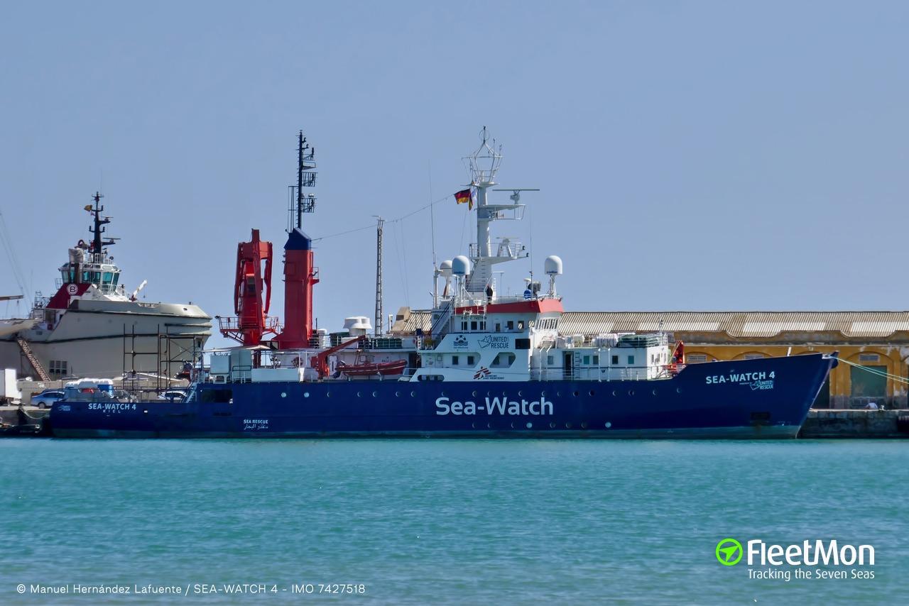 Sea Watch 4 News